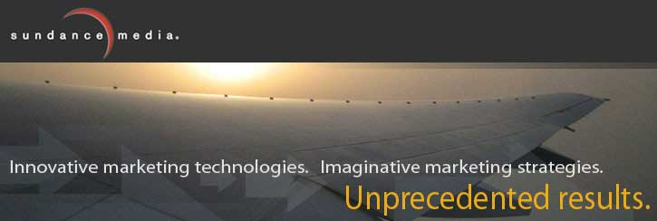 Innovative marketing technologies. Imaginative marketing strategies. Unprecendented results.
